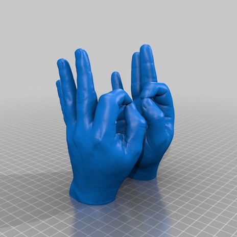 OK手势3D打印模型,OK手势3D模型下载,3D打印OK手势模型下载,OK手势3D模型,OK手势STL格式文件,OK手势3D打印模型免费下载,3D打印模型库