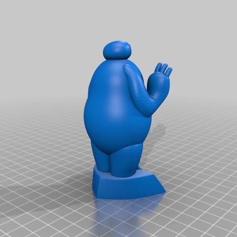 动画角色大白3D打印模型,动画角色大白3D模型下载,3D打印动画角色大白模型下载,动画角色大白3D模型,动画角色大白STL格式文件,动画角色大白3D打印模型免费下载,3D打印模型库