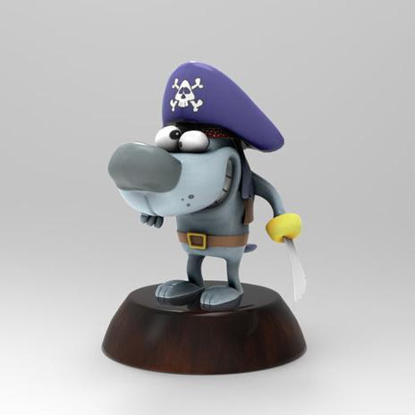 海盗狗3D打印模型,海盗狗3D模型下载,3D打印海盗狗模型下载,海盗狗3D模型,海盗狗STL格式文件,海盗狗3D打印模型免费下载,3D打印模型库