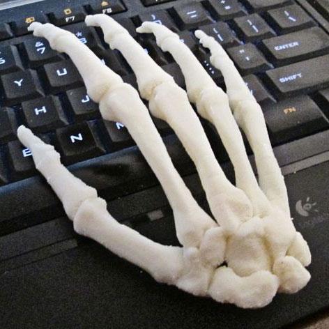 手骨骼3D打印模型,手骨骼3D模型下载,3D打印手骨骼模型下载,手骨骼3D模型,手骨骼STL格式文件,手骨骼3D打印模型免费下载,3D打印模型库