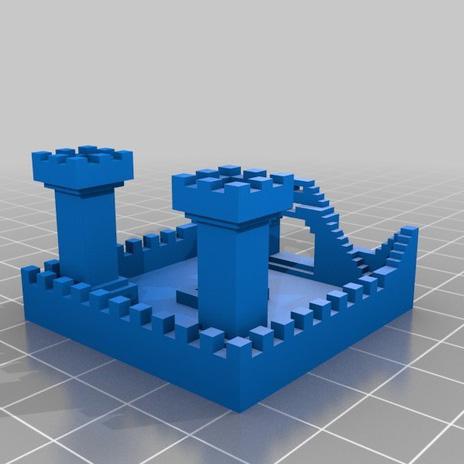 游戏城堡3D打印模型,游戏城堡3D模型下载,3D打印游戏城堡模型下载,游戏城堡3D模型,游戏城堡STL格式文件,游戏城堡3D打印模型免费下载,3D打印模型库
