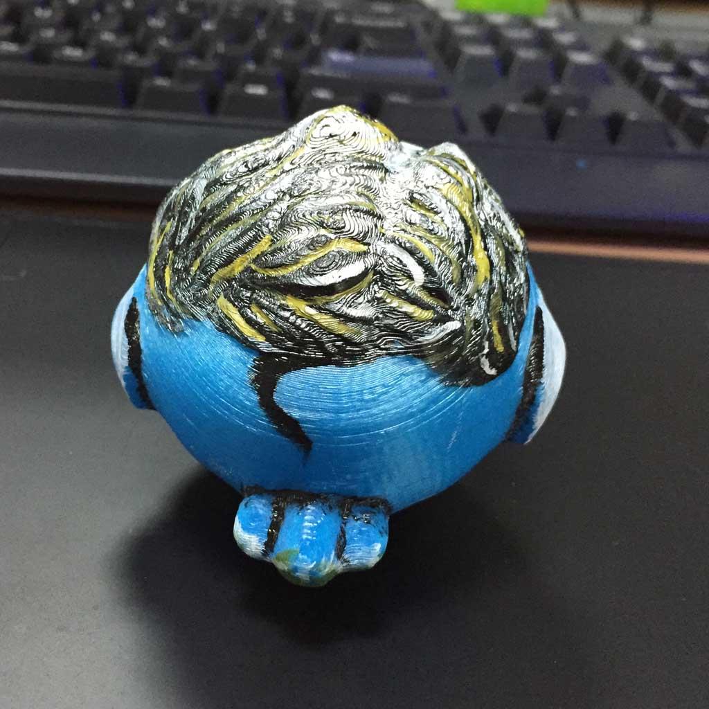 圆鸟3D打印模型,圆鸟3D模型下载,3D打印圆鸟模型下载,圆鸟3D模型,圆鸟STL格式文件,圆鸟3D打印模型免费下载,3D打印模型库