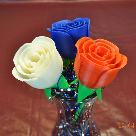 玫瑰花3D打印模型,玫瑰花3D模型下载,3D打印玫瑰花模型下载,玫瑰花3D模型,玫瑰花STL格式文件,玫瑰花3D打印模型免费下载,3D打印模型库