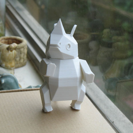 3D打印 小犀牛(可活动) STL数据下载