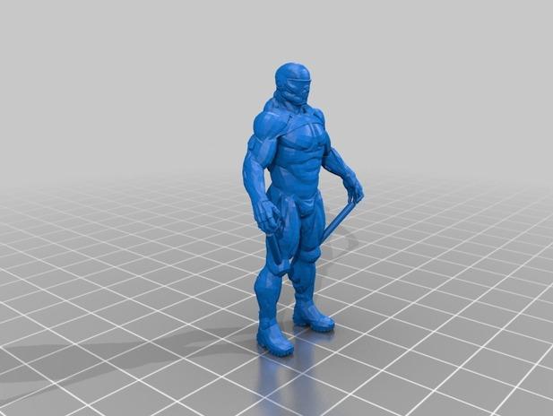 孤独危机2主角3D打印模型,孤独危机2主角3D模型下载,3D打印孤独危机2主角模型下载,孤独危机2主角3D模型,孤独危机2主角STL格式文件,孤独危机2主角3D打印模型免费下载,3D打印模型库