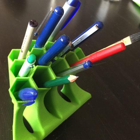蜂窝笔座3D打印模型,蜂窝笔座3D模型下载,3D打印蜂窝笔座模型下载,蜂窝笔座3D模型,蜂窝笔座STL格式文件,蜂窝笔座3D打印模型免费下载,3D打印模型库
