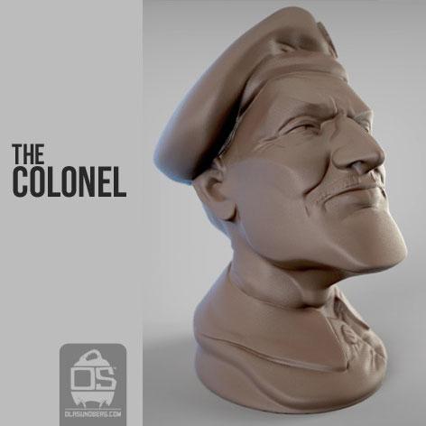 陆军上将3D打印模型,陆军上将3D模型下载,3D打印陆军上将模型下载,陆军上将3D模型,陆军上将STL格式文件,陆军上将3D打印模型免费下载,3D打印模型库