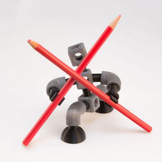 铅笔小人3D打印模型,铅笔小人3D模型下载,3D打印铅笔小人模型下载,铅笔小人3D模型,铅笔小人STL格式文件,铅笔小人3D打印模型免费下载,3D打印模型库