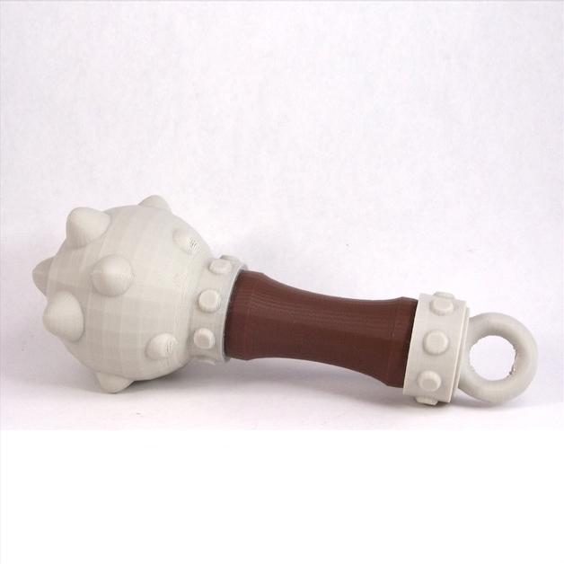 宝宝狼牙棒3D打印模型,宝宝狼牙棒3D模型下载,3D打印宝宝狼牙棒模型下载,宝宝狼牙棒3D模型,宝宝狼牙棒STL格式文件,宝宝狼牙棒3D打印模型免费下载,3D打印模型库