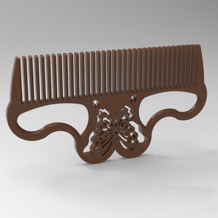 梳子3D打印模型,梳子3D模型下载,3D打印梳子模型下载,梳子3D模型,梳子STL格式文件,梳子3D打印模型免费下载,3D打印模型库