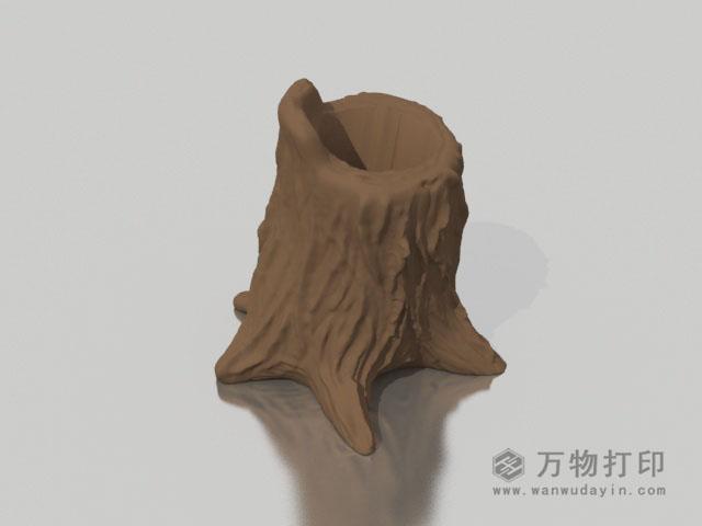 树桩笔筒3D打印模型,树桩笔筒3D模型下载,3D打印树桩笔筒模型下载,树桩笔筒3D模型,树桩笔筒STL格式文件,树桩笔筒3D打印模型免费下载,3D打印模型库