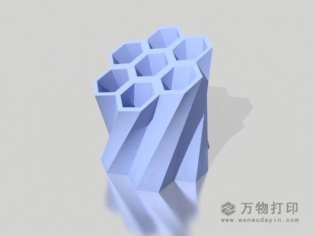 蜂巢笔筒3D打印模型,蜂巢笔筒3D模型下载,3D打印蜂巢笔筒模型下载,蜂巢笔筒3D模型,蜂巢笔筒STL格式文件,蜂巢笔筒3D打印模型免费下载,3D打印模型库