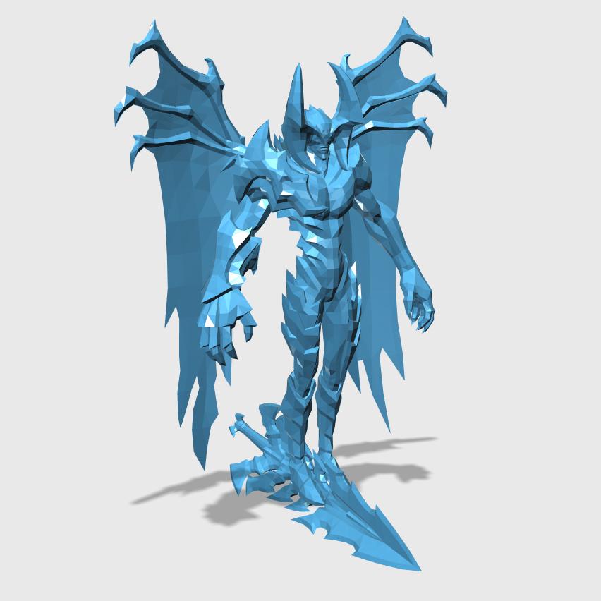 Aatrox3D打印模型,Aatrox3D模型下载,3D打印Aatrox模型下载,Aatrox3D模型,AatroxSTL格式文件,Aatrox3D打印模型免费下载,3D打印模型库