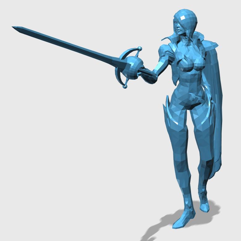 Fiora3D打印模型,Fiora3D模型下载,3D打印Fiora模型下载,Fiora3D模型,FioraSTL格式文件,Fiora3D打印模型免费下载,3D打印模型库