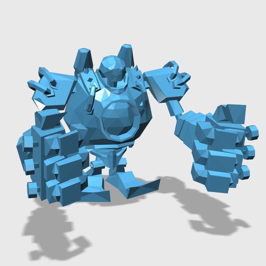 Blitzcrank3D打印模型,Blitzcrank3D模型下载,3D打印Blitzcrank模型下载,Blitzcrank3D模型,BlitzcrankSTL格式文件,Blitzcrank3D打印模型免费下载,3D打印模型库