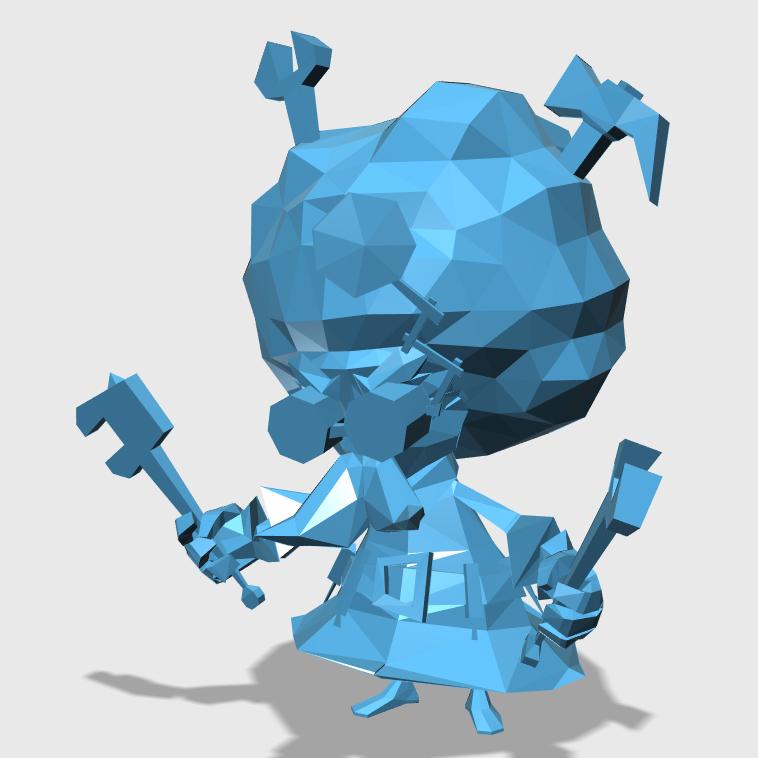 HermitRobot3D打印模型,HermitRobot3D模型下载,3D打印HermitRobot模型下载,HermitRobot3D模型,HermitRobotSTL格式文件,HermitRobot3D打印模型免费下载,3D打印模型库
