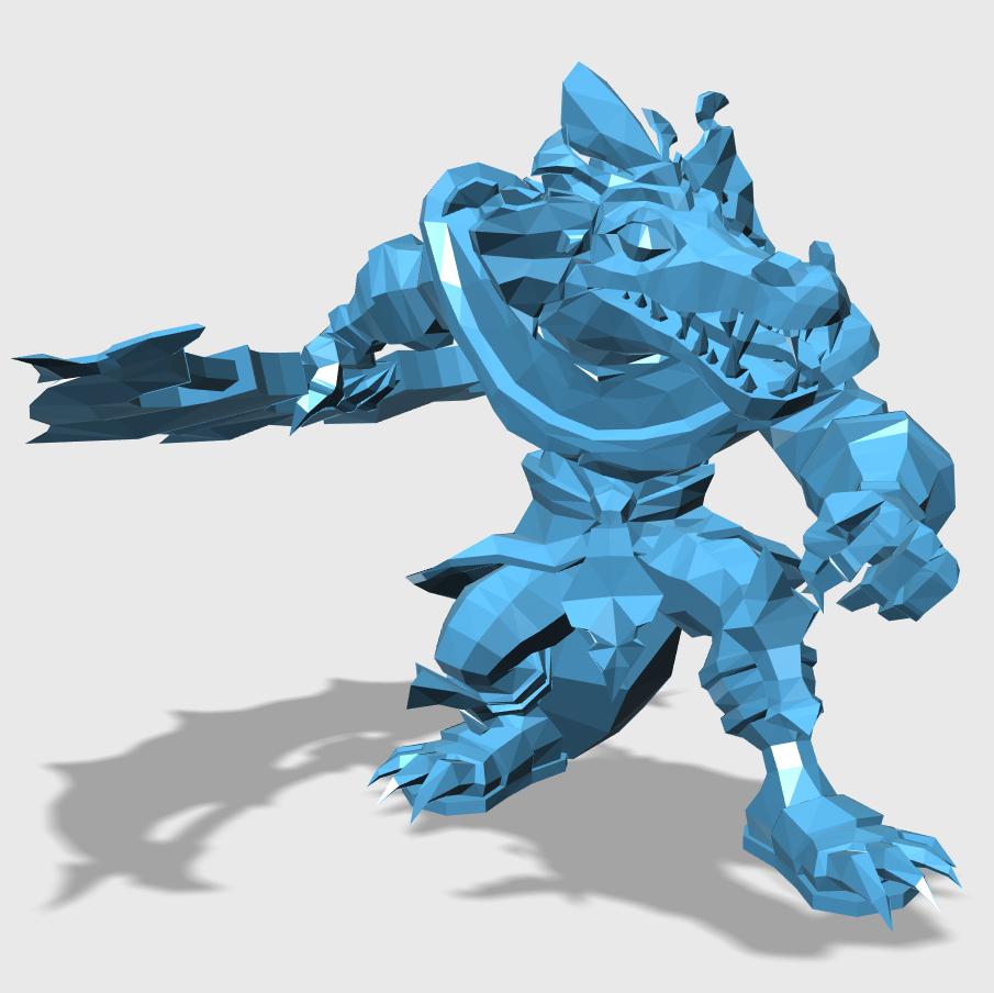 Renekton3D打印模型,Renekton3D模型下载,3D打印Renekton模型下载,Renekton3D模型,RenektonSTL格式文件,Renekton3D打印模型免费下载,3D打印模型库