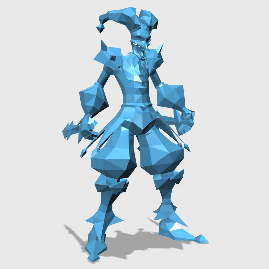 Shaco3D打印模型,Shaco3D模型下载,3D打印Shaco模型下载,Shaco3D模型,ShacoSTL格式文件,Shaco3D打印模型免费下载,3D打印模型库