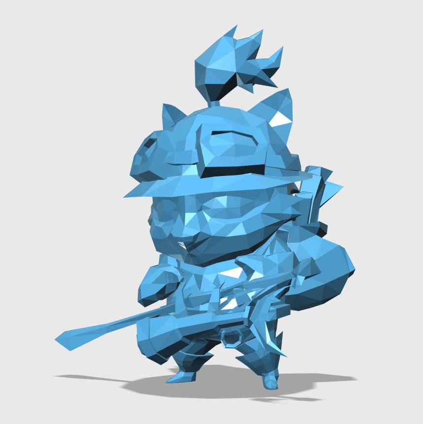 Teemo3D打印模型,Teemo3D模型下载,3D打印Teemo模型下载,Teemo3D模型,TeemoSTL格式文件,Teemo3D打印模型免费下载,3D打印模型库