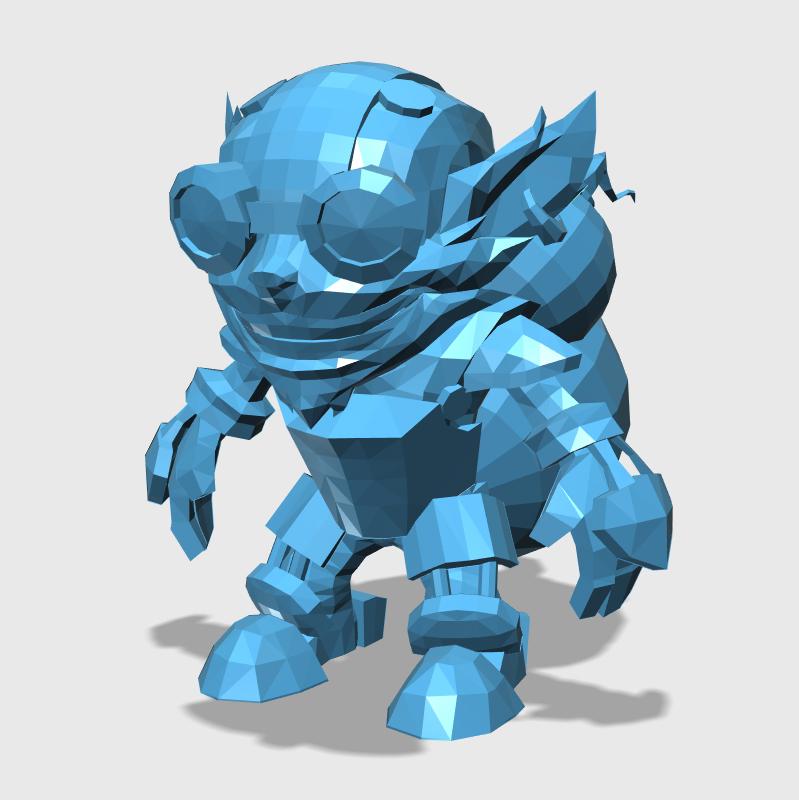 Ziggs3D打印模型,Ziggs3D模型下载,3D打印Ziggs模型下载,Ziggs3D模型,ZiggsSTL格式文件,Ziggs3D打印模型免费下载,3D打印模型库