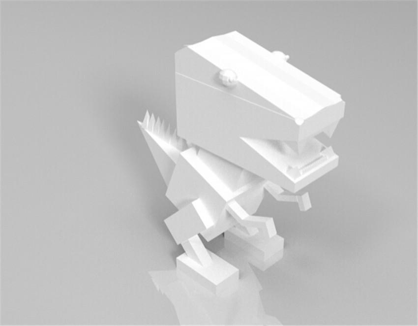 像素恐龙3D打印模型,像素恐龙3D模型下载,3D打印像素恐龙模型下载,像素恐龙3D模型,像素恐龙STL格式文件,像素恐龙3D打印模型免费下载,3D打印模型库