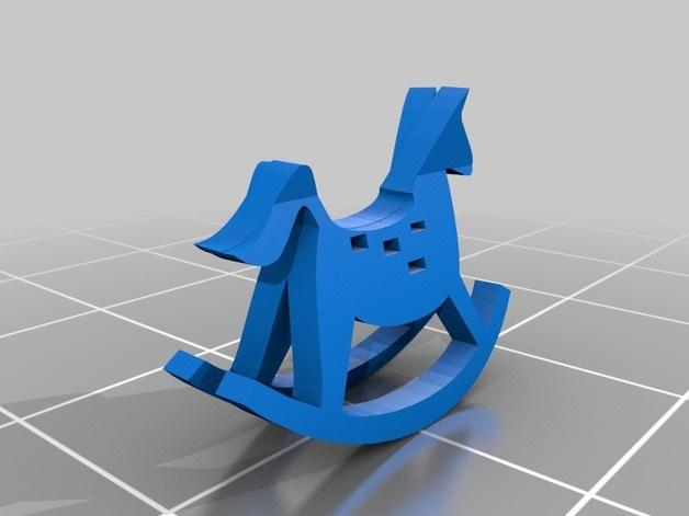 摇摇马3D打印模型,摇摇马3D模型下载,3D打印摇摇马模型下载,摇摇马3D模型,摇摇马STL格式文件,摇摇马3D打印模型免费下载,3D打印模型库