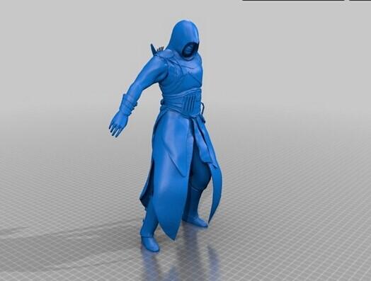 刺客信条人物3D打印模型,刺客信条人物3D模型下载,3D打印刺客信条人物模型下载,刺客信条人物3D模型,刺客信条人物STL格式文件,刺客信条人物3D打印模型免费下载,3D打印模型库