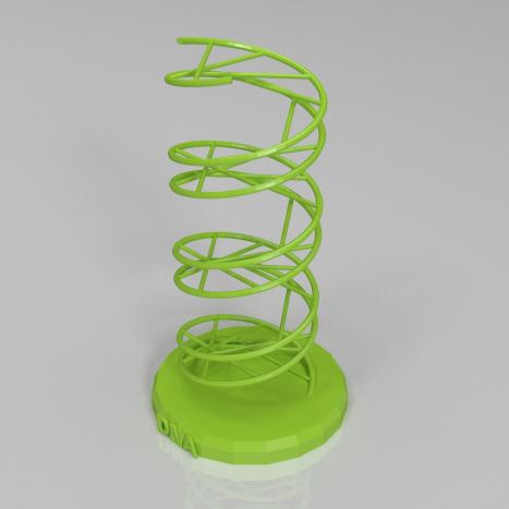 脱氧核糖核酸3D打印模型,脱氧核糖核酸3D模型下载,3D打印脱氧核糖核酸模型下载,脱氧核糖核酸3D模型,脱氧核糖核酸STL格式文件,脱氧核糖核酸3D打印模型免费下载,3D打印模型库