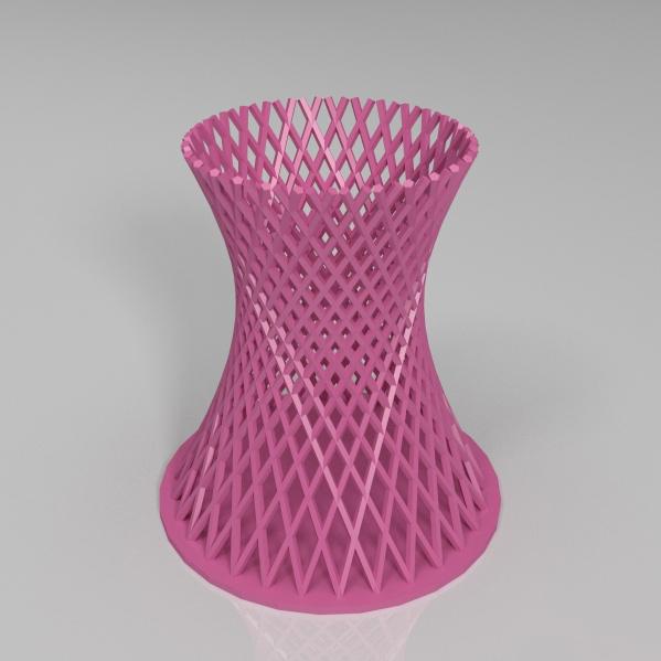 双曲线冷却塔笔筒3D打印模型,双曲线冷却塔笔筒3D模型下载,3D打印双曲线冷却塔笔筒模型下载,双曲线冷却塔笔筒3D模型,双曲线冷却塔笔筒STL格式文件,双曲线冷却塔笔筒3D打印模型免费下载,3D打印模型库