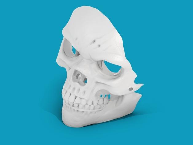 骷髅面具3D打印模型,骷髅面具3D模型下载,3D打印骷髅面具模型下载,骷髅面具3D模型,骷髅面具STL格式文件,骷髅面具3D打印模型免费下载,3D打印模型库
