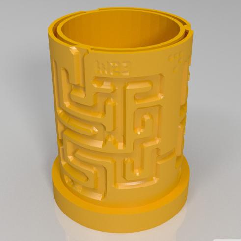 迷宫杯3D打印模型,迷宫杯3D模型下载,3D打印迷宫杯模型下载,迷宫杯3D模型,迷宫杯STL格式文件,迷宫杯3D打印模型免费下载,3D打印模型库