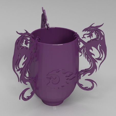 龙凤杯3D打印模型,龙凤杯3D模型下载,3D打印龙凤杯模型下载,龙凤杯3D模型,龙凤杯STL格式文件,龙凤杯3D打印模型免费下载,3D打印模型库