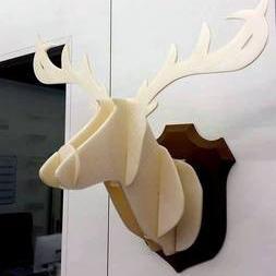 装饰鹿3D打印模型,装饰鹿3D模型下载,3D打印装饰鹿模型下载,装饰鹿3D模型,装饰鹿STL格式文件,装饰鹿3D打印模型免费下载,3D打印模型库