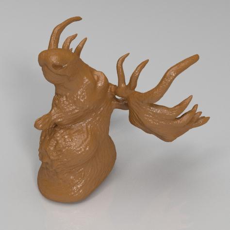 麋鹿3D打印模型,麋鹿3D模型下载,3D打印麋鹿模型下载,麋鹿3D模型,麋鹿STL格式文件,麋鹿3D打印模型免费下载,3D打印模型库