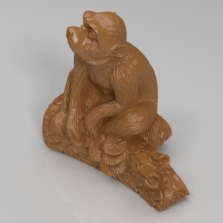 十二生肖-猴3D打印模型,十二生肖-猴3D模型下载,3D打印十二生肖-猴模型下载,十二生肖-猴3D模型,十二生肖-猴STL格式文件,十二生肖-猴3D打印模型免费下载,3D打印模型库