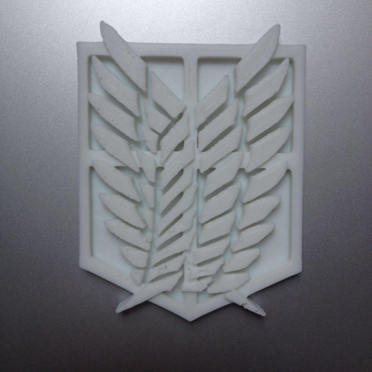 调查兵团徽章【初级版】3D打印模型,调查兵团徽章【初级版】3D模型下载,3D打印调查兵团徽章【初级版】模型下载,调查兵团徽章【初级版】3D模型,调查兵团徽章【初级版】STL格式文件,调查兵团徽章【初级版】3D打印模型免费下载,3D打印模型库