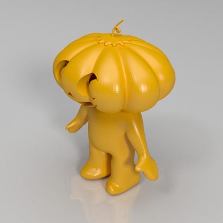 南瓜小人3D打印模型,南瓜小人3D模型下载,3D打印南瓜小人模型下载,南瓜小人3D模型,南瓜小人STL格式文件,南瓜小人3D打印模型免费下载,3D打印模型库