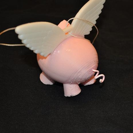 飞天猪3D打印模型,飞天猪3D模型下载,3D打印飞天猪模型下载,飞天猪3D模型,飞天猪STL格式文件,飞天猪3D打印模型免费下载,3D打印模型库