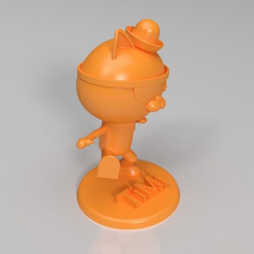 海底小纵队-呱唧3D打印模型,海底小纵队-呱唧3D模型下载,3D打印海底小纵队-呱唧模型下载,海底小纵队-呱唧3D模型,海底小纵队-呱唧STL格式文件,海底小纵队-呱唧3D打印模型免费下载,3D打印模型库