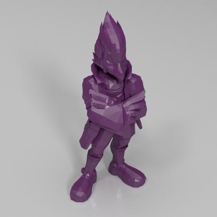 隼人3D打印模型,隼人3D模型下载,3D打印隼人模型下载,隼人3D模型,隼人STL格式文件,隼人3D打印模型免费下载,3D打印模型库