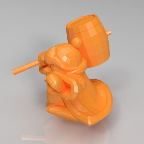 国王Dedede3D打印模型,国王Dedede3D模型下载,3D打印国王Dedede模型下载,国王Dedede3D模型,国王DededeSTL格式文件,国王Dedede3D打印模型免费下载,3D打印模型库