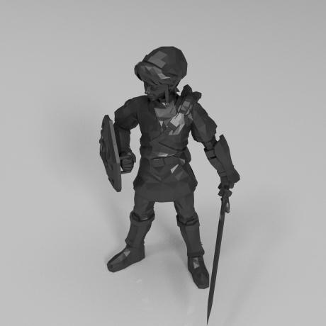 战士3D打印模型,战士3D模型下载,3D打印战士模型下载,战士3D模型,战士STL格式文件,战士3D打印模型免费下载,3D打印模型库