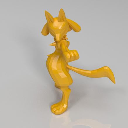 路卡利欧3D打印模型,路卡利欧3D模型下载,3D打印路卡利欧模型下载,路卡利欧3D模型,路卡利欧STL格式文件,路卡利欧3D打印模型免费下载,3D打印模型库