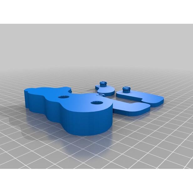 母子熊3D打印模型,母子熊3D模型下载,3D打印母子熊模型下载,母子熊3D模型,母子熊STL格式文件,母子熊3D打印模型免费下载,3D打印模型库