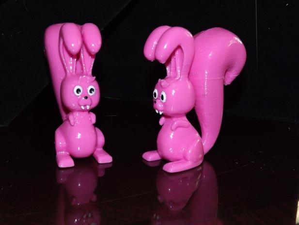 怪胎兔子3D打印模型,怪胎兔子3D模型下载,3D打印怪胎兔子模型下载,怪胎兔子3D模型,怪胎兔子STL格式文件,怪胎兔子3D打印模型免费下载,3D打印模型库