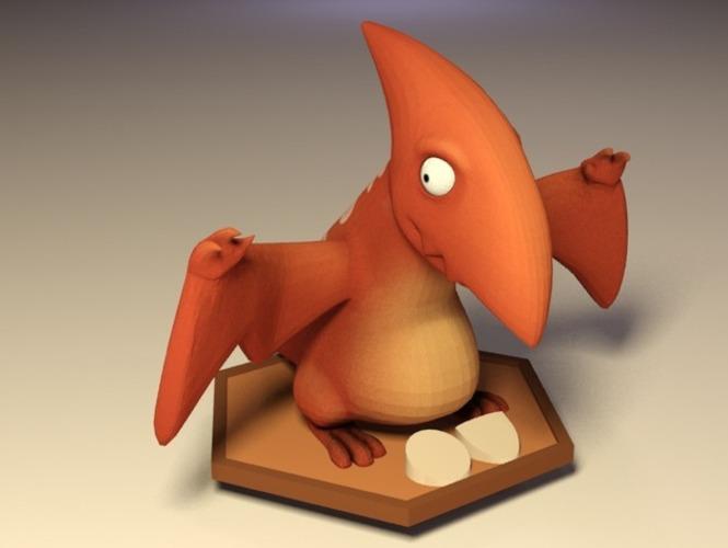 PTerry恐龙3D打印模型,PTerry恐龙3D模型下载,3D打印PTerry恐龙模型下载,PTerry恐龙3D模型,PTerry恐龙STL格式文件,PTerry恐龙3D打印模型免费下载,3D打印模型库