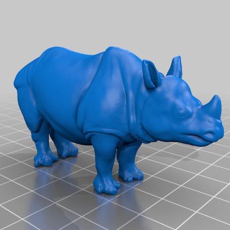犀牛3D打印模型,犀牛3D模型下载,3D打印犀牛模型下载,犀牛3D模型,犀牛STL格式文件,犀牛3D打印模型免费下载,3D打印模型库