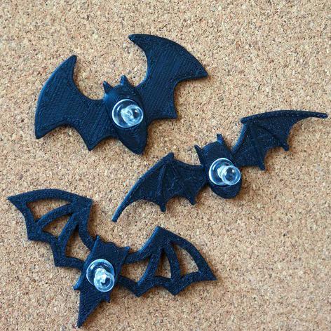 蝙蝠图钉3D打印模型,蝙蝠图钉3D模型下载,3D打印蝙蝠图钉模型下载,蝙蝠图钉3D模型,蝙蝠图钉STL格式文件,蝙蝠图钉3D打印模型免费下载,3D打印模型库