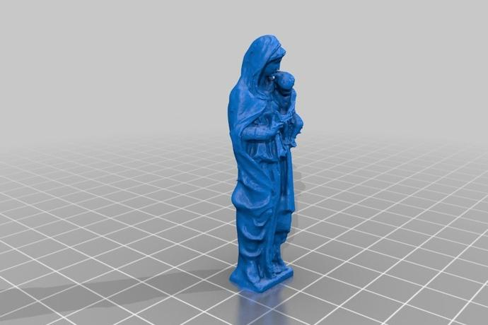 3D打印 抱小孩的人模型图片、模型下载、STL文件下载