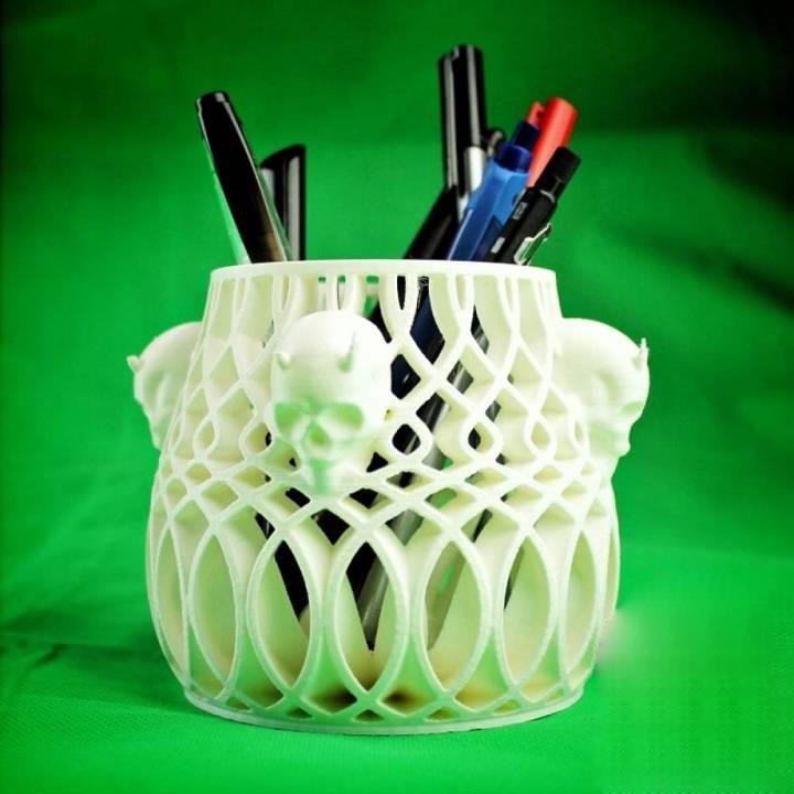 骷髅笔筒3D打印模型,骷髅笔筒3D模型下载,3D打印骷髅笔筒模型下载,骷髅笔筒3D模型,骷髅笔筒STL格式文件,骷髅笔筒3D打印模型免费下载,3D打印模型库